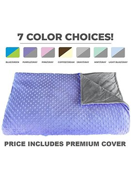 "Premium Weighted Blanket, Perfect Size 60"" X 80"" And Weight (15lb) For Adults And Children.... by Platinum Health"