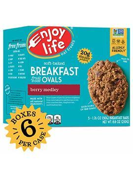 Enjoy Life Gluten Free Nut Free & Vegan Breakfast Cookies, Berry Medley, 6 Count by Enjoy Life Foods