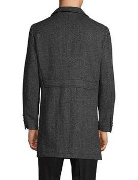 """45"""" Long Wool Dress Coat by Sondergaard"""