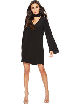 Brin Long Sleeve Keyhole Dress by American Rose