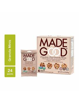 Made Good Granola Minis Chocolate Chip, 24 Gram, (Pack Of 6) by Made Good