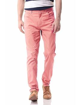 Pau1 Hami1ton Ph 17 Men's Slim Stretchy Casual Chinos Pants Tapered Work Weekend Office by Pau1 Hami1ton