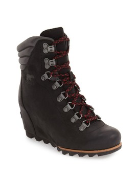 Conquest Waterproof Wedge Boot by Sorel