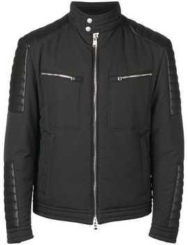 Zipped Biker Jacket by Boss Hugo Boss