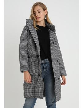 Check Longline Puffer   Classic Coat by Whistles