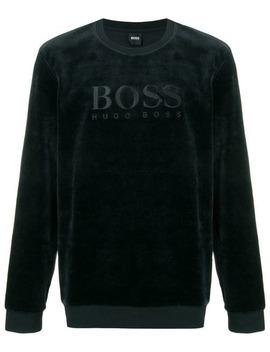 Logo Long Sleeve Sweatshirt by Boss Hugo Boss