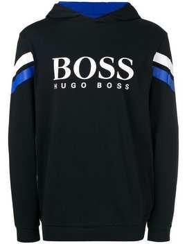 Logo Hooded Sweatshirt by Boss Hugo Boss
