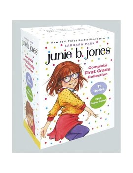 Junie B. Jones Complete First Grade Collection: Books 18 28 With Paper Dolls In Boxed Set (Paperback) by Barbara Park; Denise Brunkus