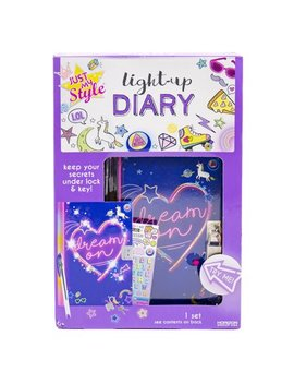 Just My Style Light Up Diary Kit By Horizon Group Usa by Just My Style