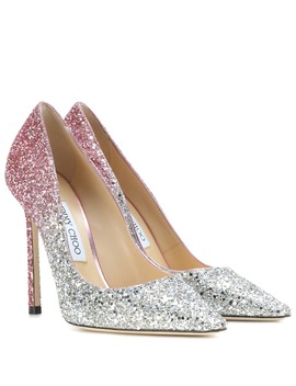 Pumps Romy 110 Mit Glitter by Jimmy Choo