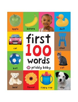 First 100 Words (Board Book) by Roger Priddy