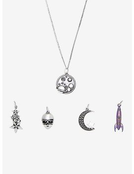Cosmic Mood Alien Necklace Set by Hot Topic