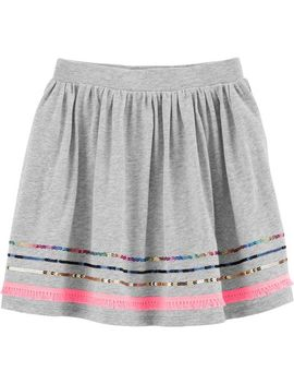 Sequin Fringe Skort by Carter's