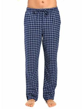 Noble Mount Twin Boat Men's 100 Percents Cotton Flannel Lounge Pants by Noble+Mount