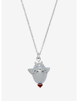 Her Universe Studio Ghibli My Neighbor Totoro 30th Anniversary Spinning Top Necklace By Rock Love by Hot Topic