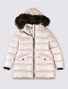 Long Padded Coat With Stormwear™ (3 16 Years) by Tracked Express Delivery: