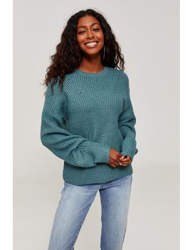 Rib Knit Sweater by Ardene