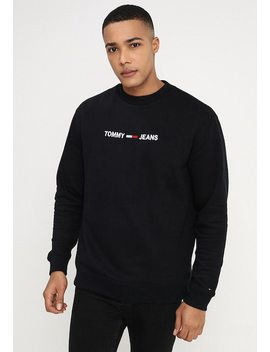 Small Logo Crew   Sweatshirt by Tommy Jeans