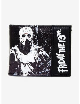 Friday The 13th Bi Fold Wallet by Hot Topic