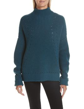Merino Wool Mock Neck Sweater by Grey Jason Wu