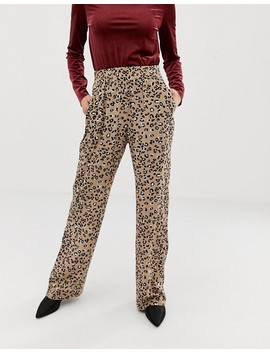 M By M Leopard Print Pants by Pants