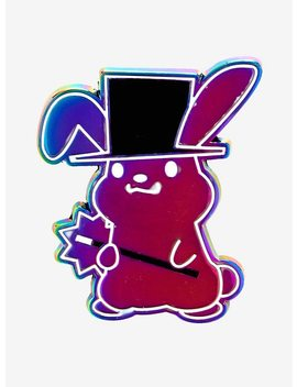 Anodized Magician Bunny Enamel Pin by Hot Topic