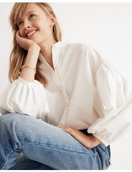 Whit® Neely Shirt In White by Madewell