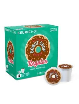The Original Donut Shop Regular Medium Roast Coffee   Keurig K Cup Pods   18ct by The Original Donut Shop