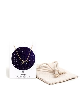 Virgo Zodiac Symbol Necklace by Windsor