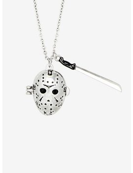 Friday The 13th Jason Locket Necklace by Hot Topic