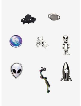 Alien Mix & Match Earring 8 Earring Set by Hot Topic