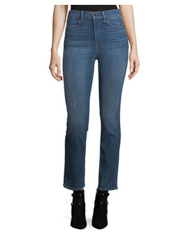 High Rise Slim Fit Cigarette Jeans by Rag & Bone