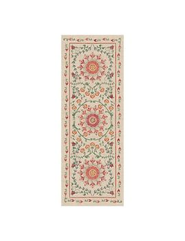 Ruggable® Washable Suzi Framed Floral 2 Piece Indoor Outdoor Rug System by Ruggable