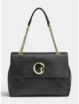 Coated Look Bia Shoulder Bag by Guess