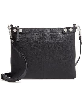 Sloane Pebbled Leather Crossbody Bag by Treasure & Bond