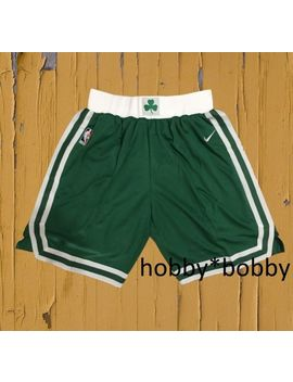Boston Celtics Green Stitched Sewn Small Xxl Men's Basketball Shorts by Ebay Seller
