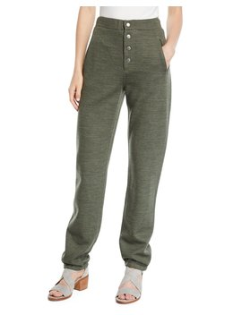 Sailor Wool Blend Sweatpants With Exposed Fly by Rag & Bone