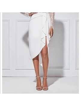 Misha Collection Cerelia Skirt In Milk by Misha Collection