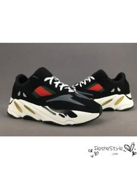 @@@ Adidas Kanye West Yeezy Wave Runner 700 Boost Black Shoes @@@ by Ebay Seller