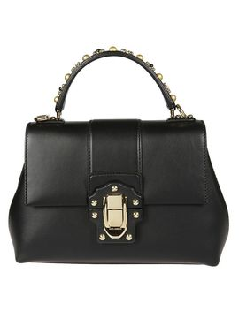 Dolce & Gabbana Lucia Studded Handle Tote by Dolce & Gabbana