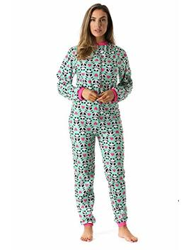 Just Love Printed Flannel Adult Onesie/Pajamas by Just+Love