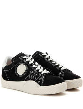 Wave Rough Suede Sneakers by Eytys