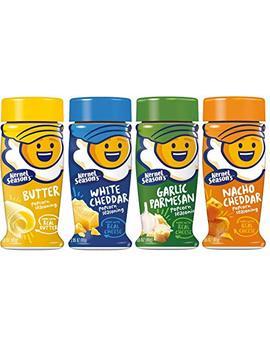 Kernel Season's Popcorn Seasoning 4 Flavor Variety Bundle: (1) Kernel Season's White Cheddar Popcorn Seasoning, (1) Kernel Season's Nacho Cheddar Popcorn Seasoning, (1)... by Kernel Season's