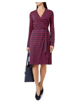 Delilah Printed Wrap Dress by Hobbs London