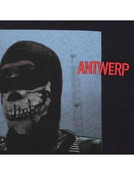 Antwerp Hooligan Crewneck Sweatshirt Black by Vier