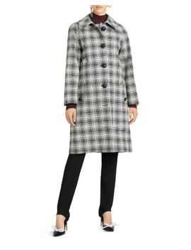 Walkden Plaid Coat by Burberry