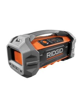 18 Volt Jobsite Radio With Bluetooth Wireless Technology (Tool Only) by Ridgid