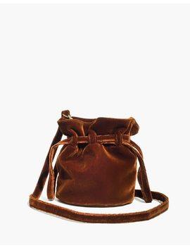 The Florence Drawstring Crossbody Bag In Velvet by Madewell