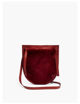 The Knot Crossbody Bag In Faux Fur by Madewell