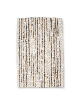"32""X20"" Stripe Spacydye Bath Rug Cream   Project 62™ by Shop This Collection"